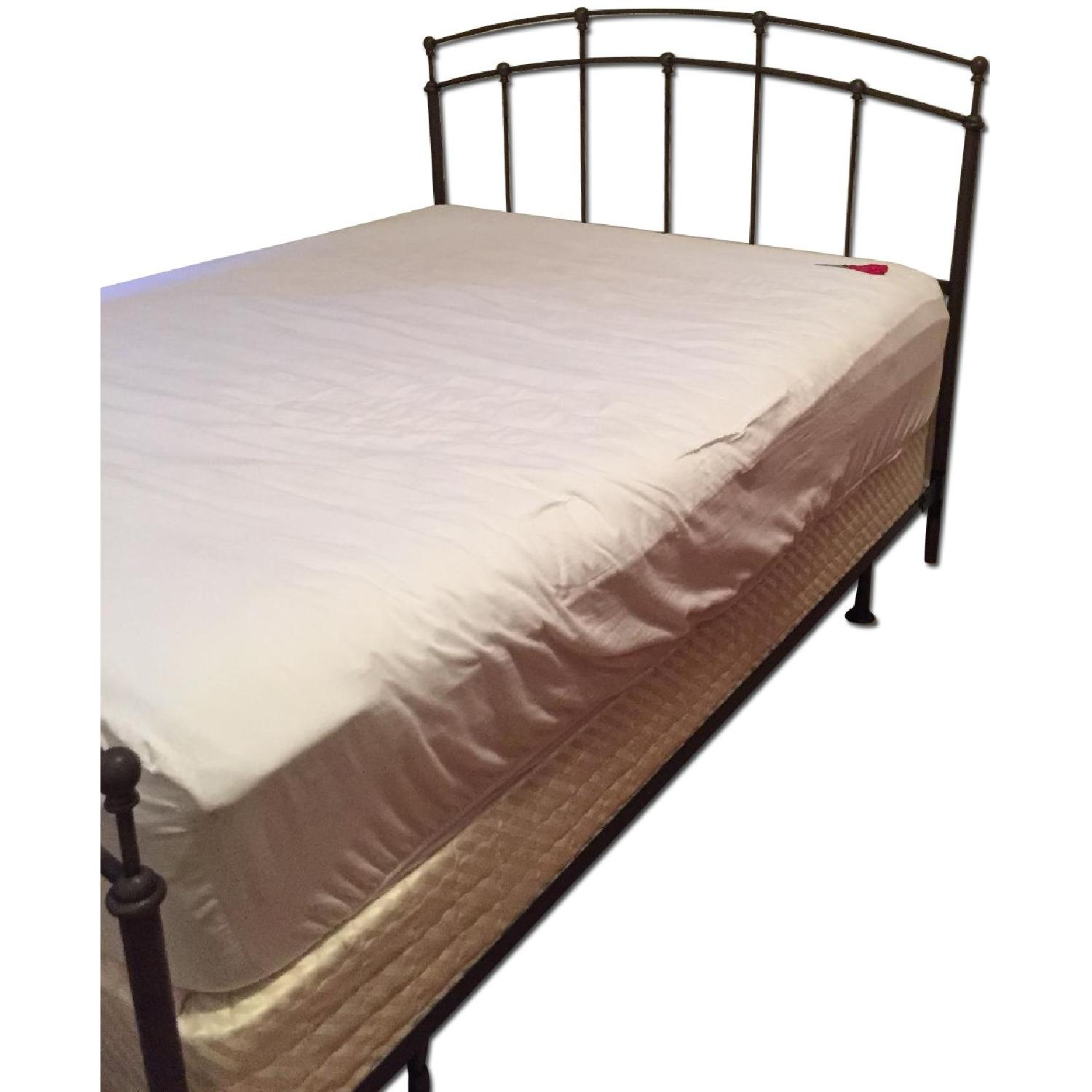 Raymour & Flanigan Queen Size Bed Frame - image-0