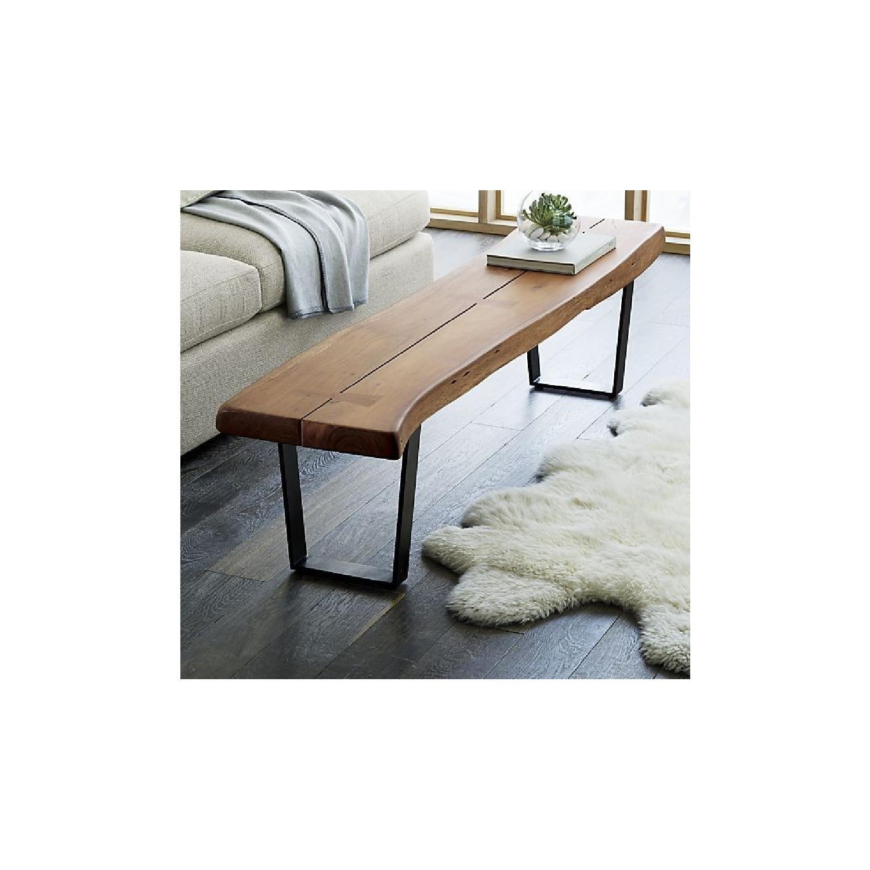 Crate & Barrel Yukon Coffee Table/Bench - image-2