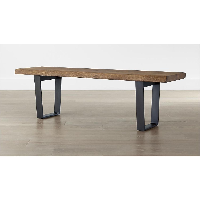 Crate & Barrel Yukon Coffee Table/Bench - image-3