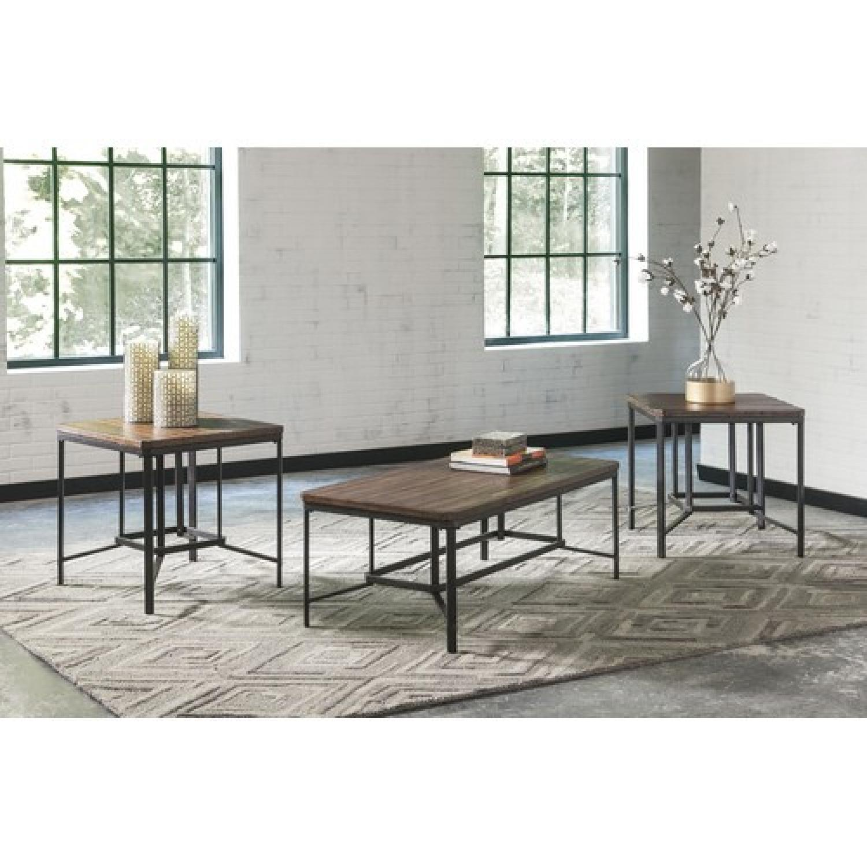 Ashley's Newelk 3 Piece Coffee Table Set - image-1