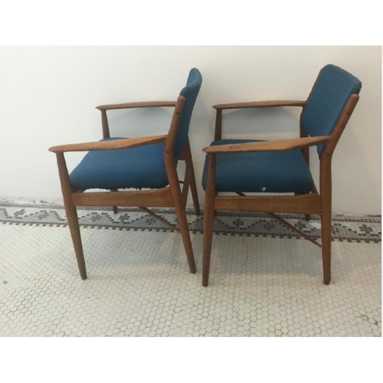 Danish Midcentury Arne Vodder Chairs - Pair - image-2