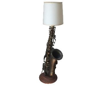 Hand-Made Saxophone Lamp