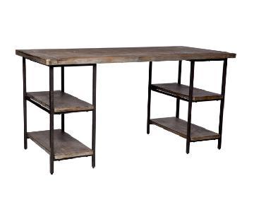 Carbon Loft Renate Reclaimed Wood & Metal Office Desk