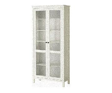 Ikea Hemnes Glass-Door Bookcase/Cabinet