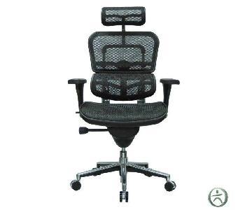 Ergohuman High Back Swivel Chair w/ Headrest