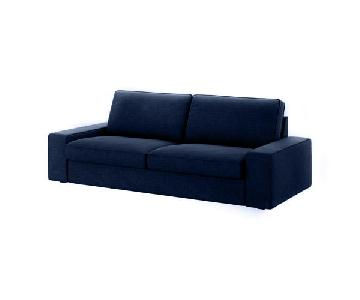 Ikea Kivik Midnight Blue Sofa