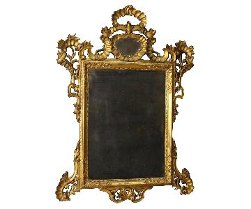 20th Century Venetian Mirror in Gilded & Carved Wood