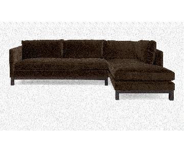 ABC Carpet and Home Cobble Hill Prescott Sectional Sofa