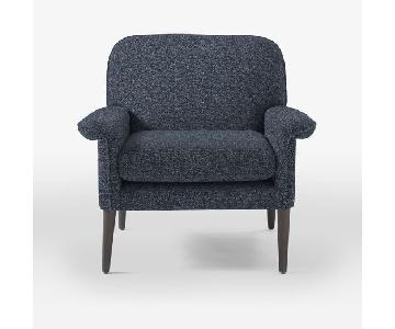West Elm Anders Grey Chair