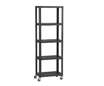 CB2 Five-Shelf Bookcase