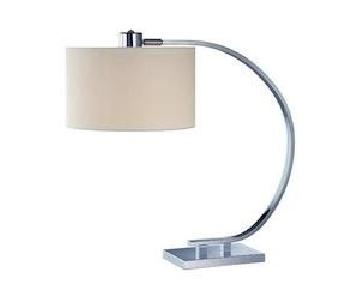 Lite Source Modern Chrome Table Lamp