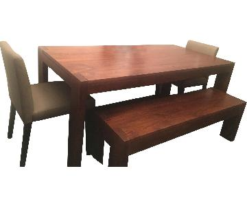 West Elm 4-Piece Dining Set