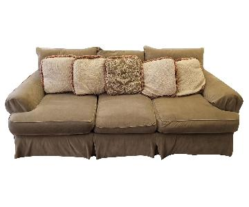Down Filled 3-Seater Sofa