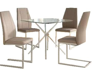 Orren Ellis Eta Contemporary 5 Piece Dining Set
