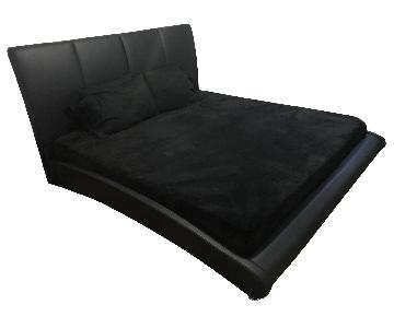 Faux Leather King Sized Bed Frame