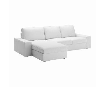 Ikea Kivik Sectional Sofa w/ Chaise