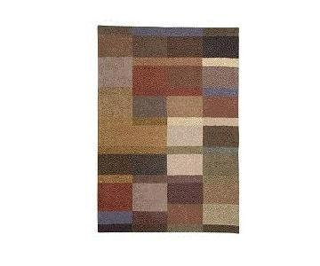 Crate & Barrel Wool Hand-Crafted Area Rug