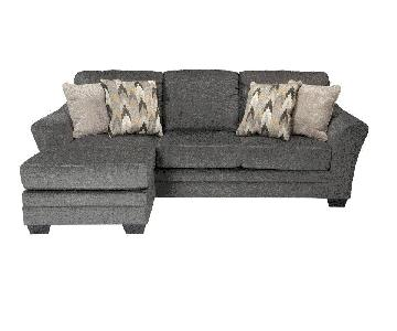 Raymour & Flanigan Ellison Sectional Sofa w/ Chaise