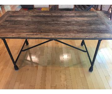 Restoration Hardware Flatiron Rectangular Dining Table
