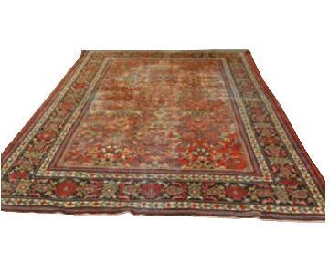 Antique Handmade Mahal Rug
