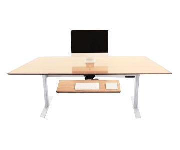 Xdesk Terra Handcrafted Power Adjustable Standing Desk