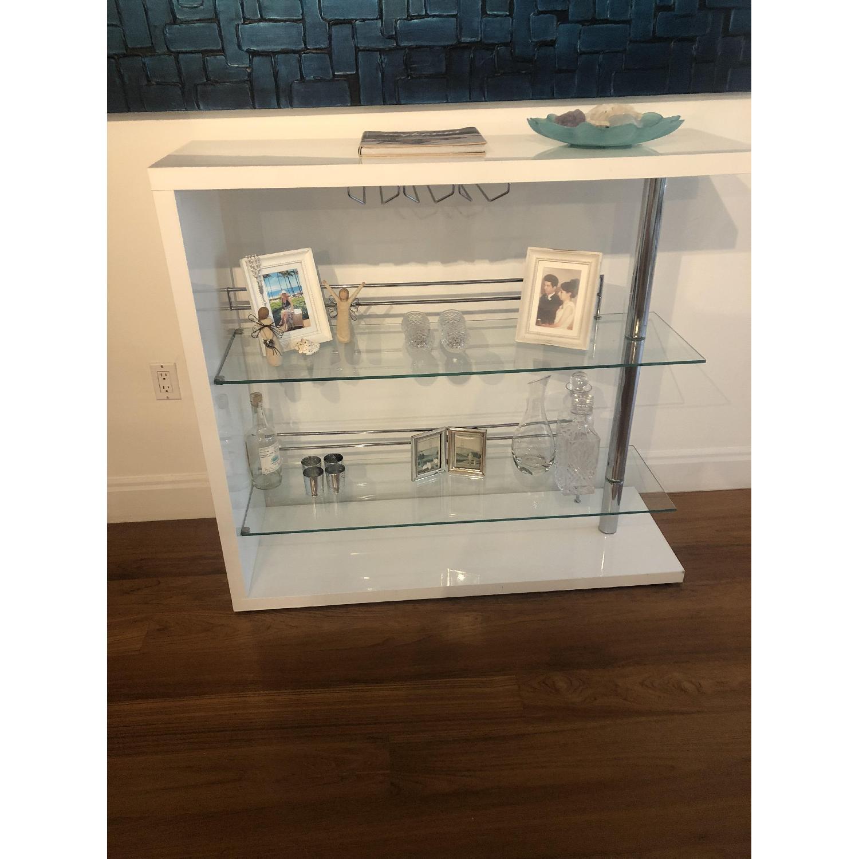 White Lacquer Bar Cabinet; White Lacquer Bar Cabinet 0 ...