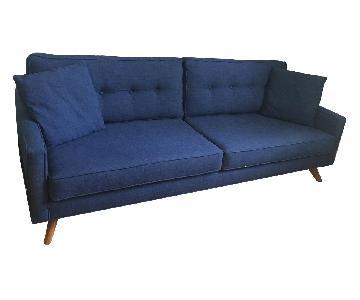 Thrive Taylor Indigo Mid Century Modern Sofa