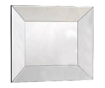 Pottery Barn Bevel Rectangular Mirror