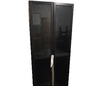 Ikea Tall Display Shelf w/ Glass Doors
