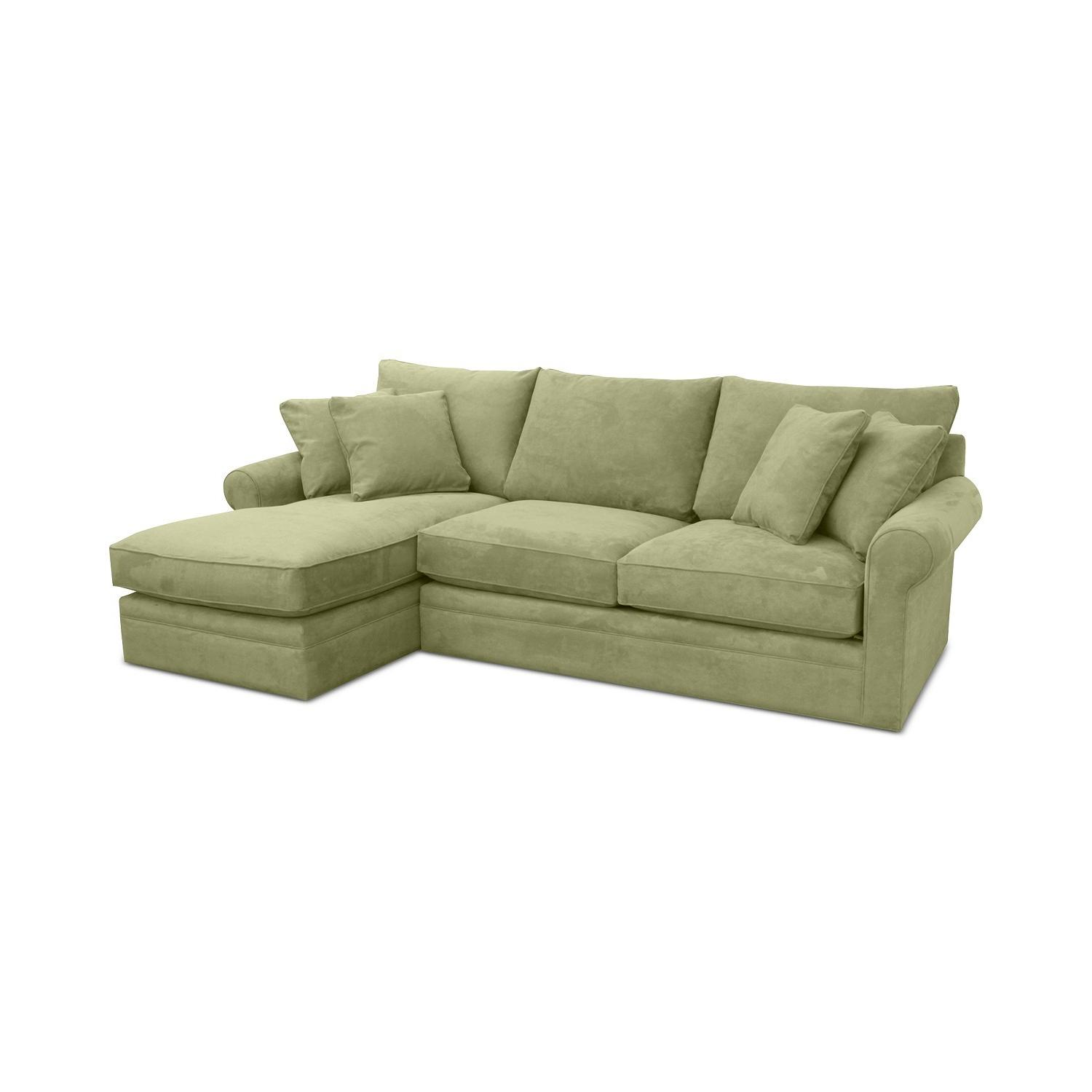 Macys Doss II 2Pc Fabric Chaise Sectional Sofa AptDeco