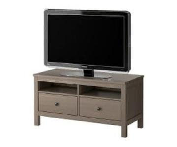 Ikea Hemnes Gray-Brown TV Console