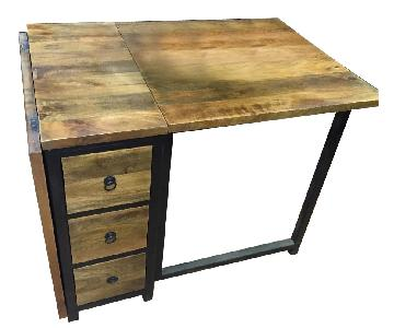 Wood Foldable Dining Table