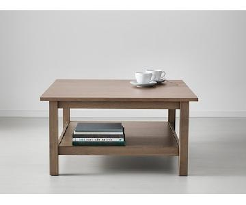 Ikea Hemnes Gray-Brown Coffee Table
