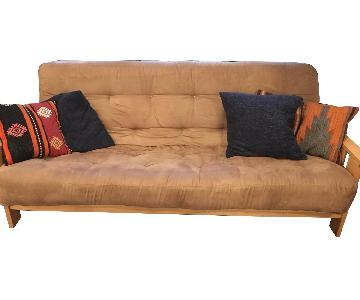 Fly By Night Microsuede Futon