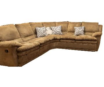 DeCoro 3-Piece Microfiber Sectional Sofa