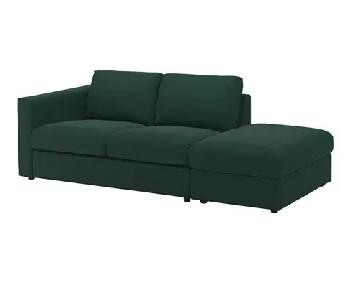 Ikea Vimle Sofa in Dark Green