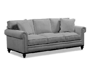 Macy's Martha Stewart Dove Grey Sofa