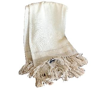 Ralph Lauren Linen Throw Blanket