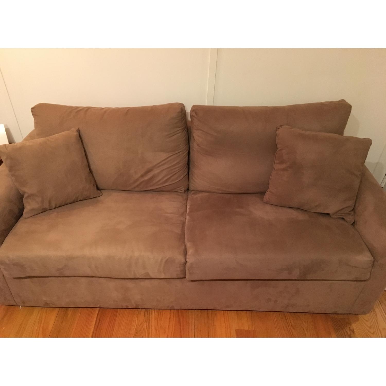 ... Overnight Sofa Memory Foam Sleeper Sofa 0 ...