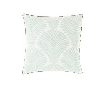 Surya Vintage Palms Velvet Pillow Cover