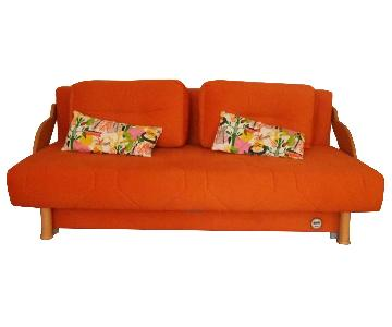 Aminach Sofa Bed w/ Storage & Pillows