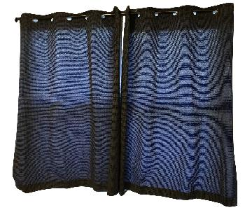 Bed Bath & Beyond Navy Curtains