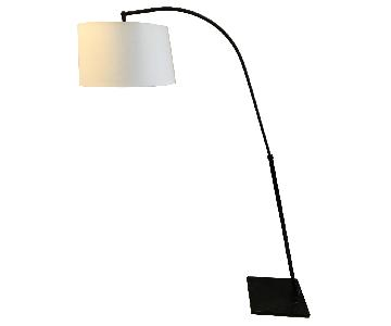 West Elm Black Metal Floor Lamp