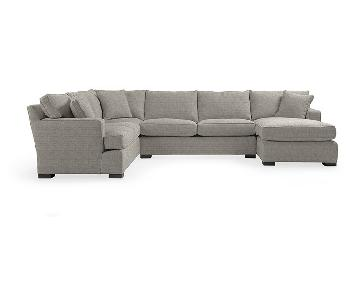 Arhaus Furniture Dune 3 Piece Sectional w/ Chaise