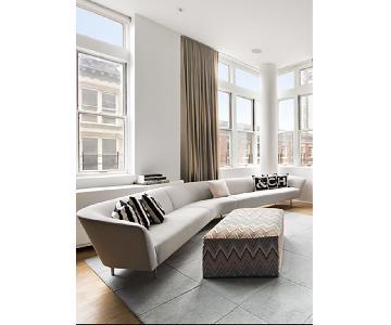 Arper 3-Piece Loop-Modular Sectional Sofa