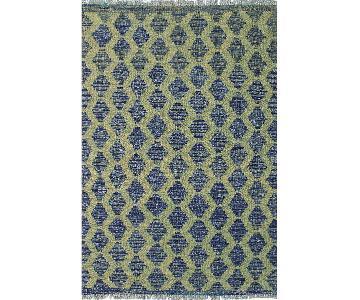 Kilim Arya Olin Blue/Green Wool Rug