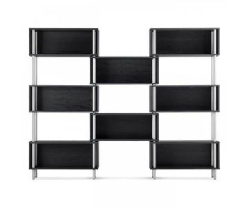 Design Within Reach Chicago 8 Box Bookshelf in Black