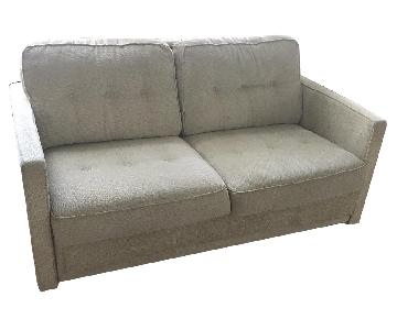 American Leather Fabric Full-Size Sleeper Sofa