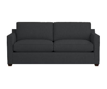 Crate & Barrel Davis Queen Sleeper Sofa