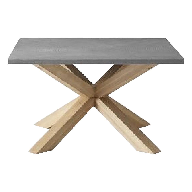 West Elm Slate Coffee Tables